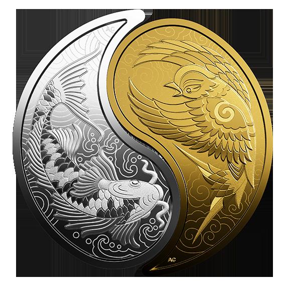 Lieferumfang:Kanada : 1 Dollar Große Münzen - Eistaucher - Flying Loon  2019 PP