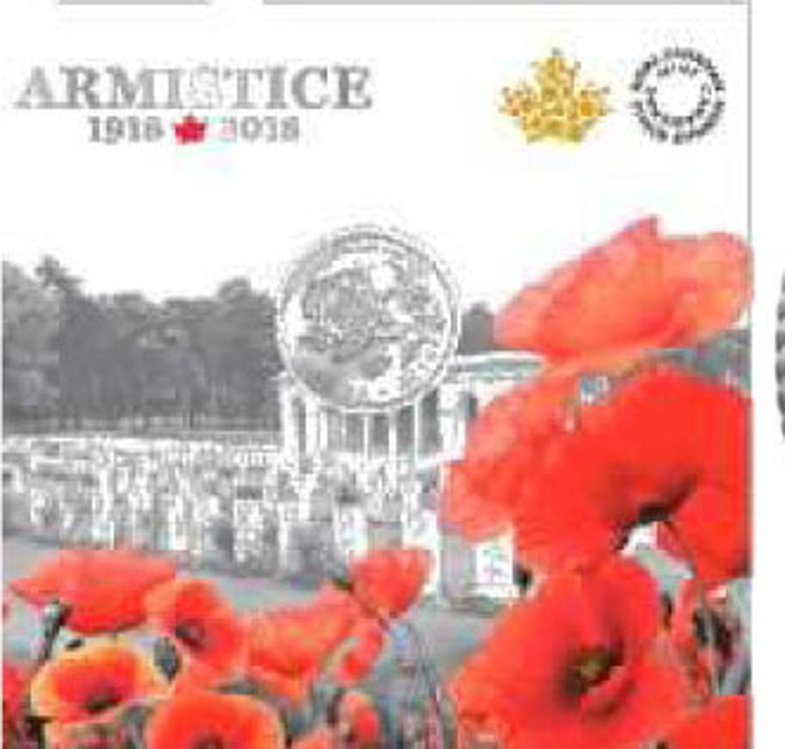 Lieferumfang:Kanada : 10 Dollar Waffenstillstand 1918 - 2018 - im Blister  2018 Stgl.