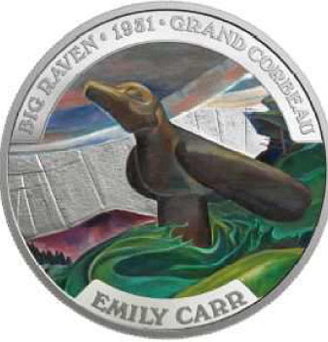 Lieferumfang:Kanada : 50 Dollar Kanadische Kunst: Emily Carr 5 oz  2018 PP