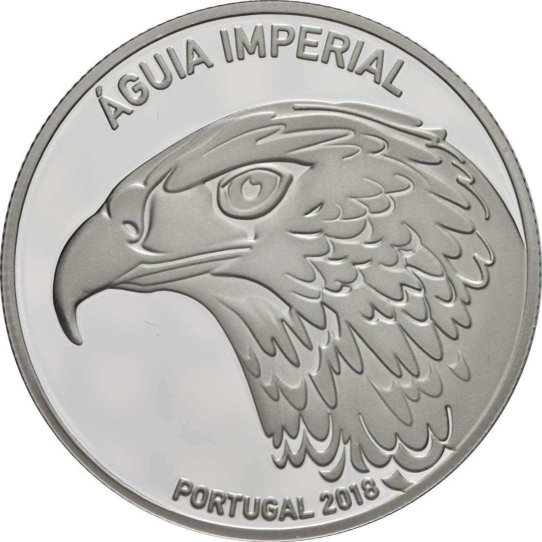 Vorderseite:Portugal : 5 Euro Spanischer Kaiseradler  2018 PP