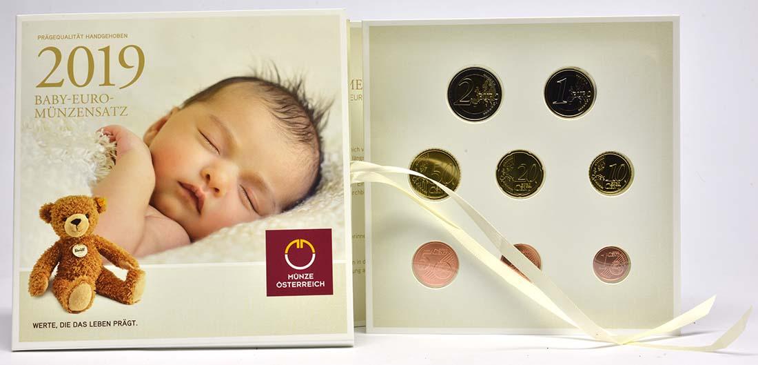 Übersicht:Österreich : 3,88 Euro KMS Österreich Baby  2019 Stgl.