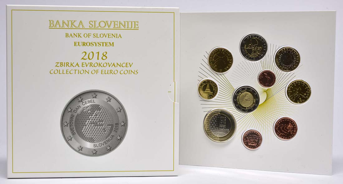 Lieferumfang:Slowenien : 8,88 Euro KMS Slowenien  2018 bfr