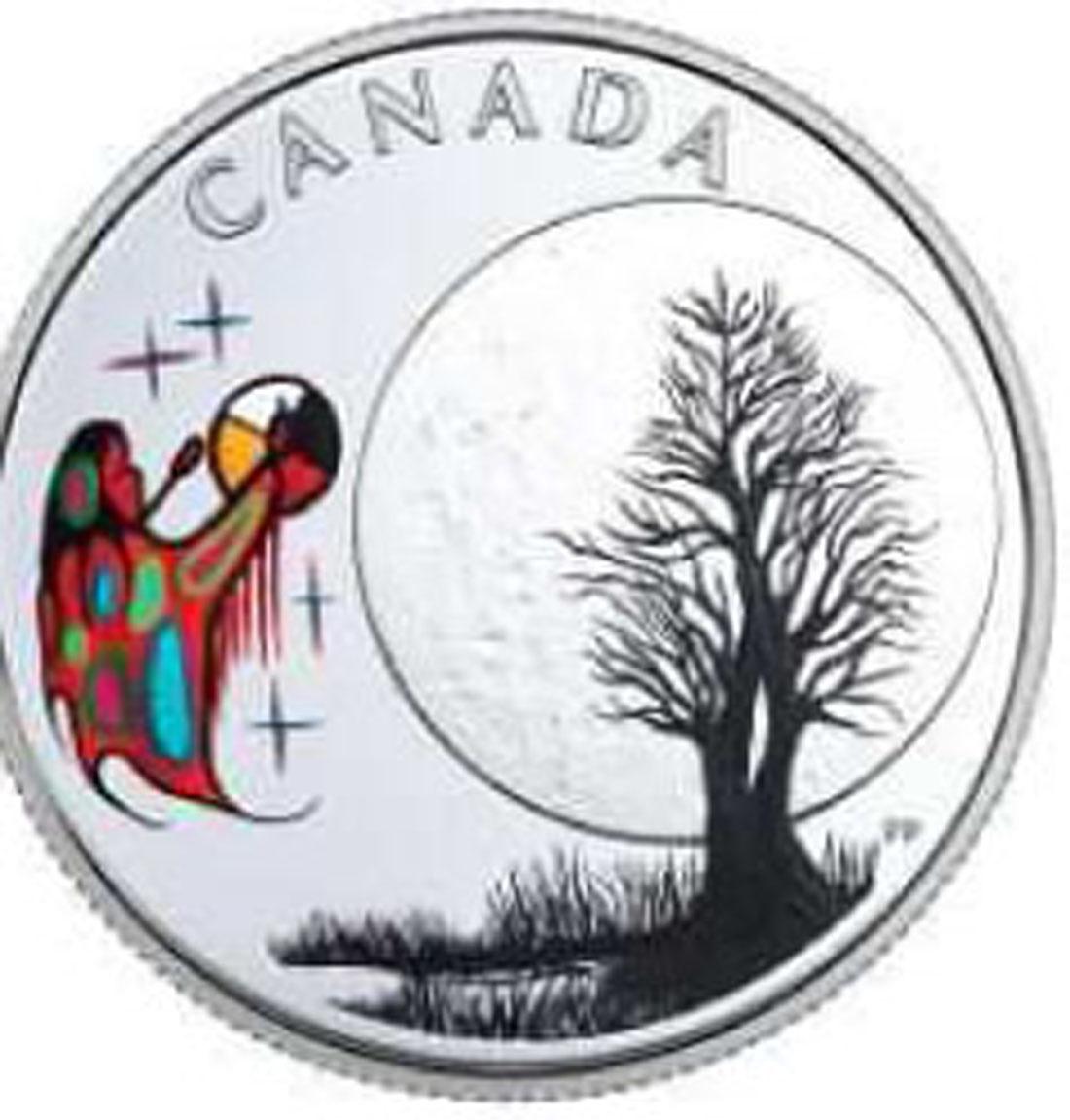 Lieferumfang:Kanada : 3 Dollar Big Spirit Moon - Die 13 Lehren von Grandm. Moon  2018 PP