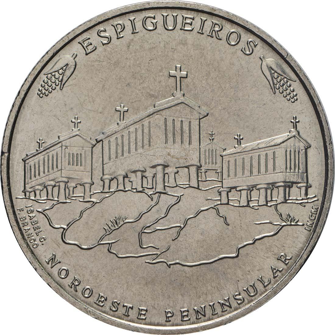 Rückseite:Portugal : 2,5 Euro Kornspeicher von Nordwestportugal  2018 bfr