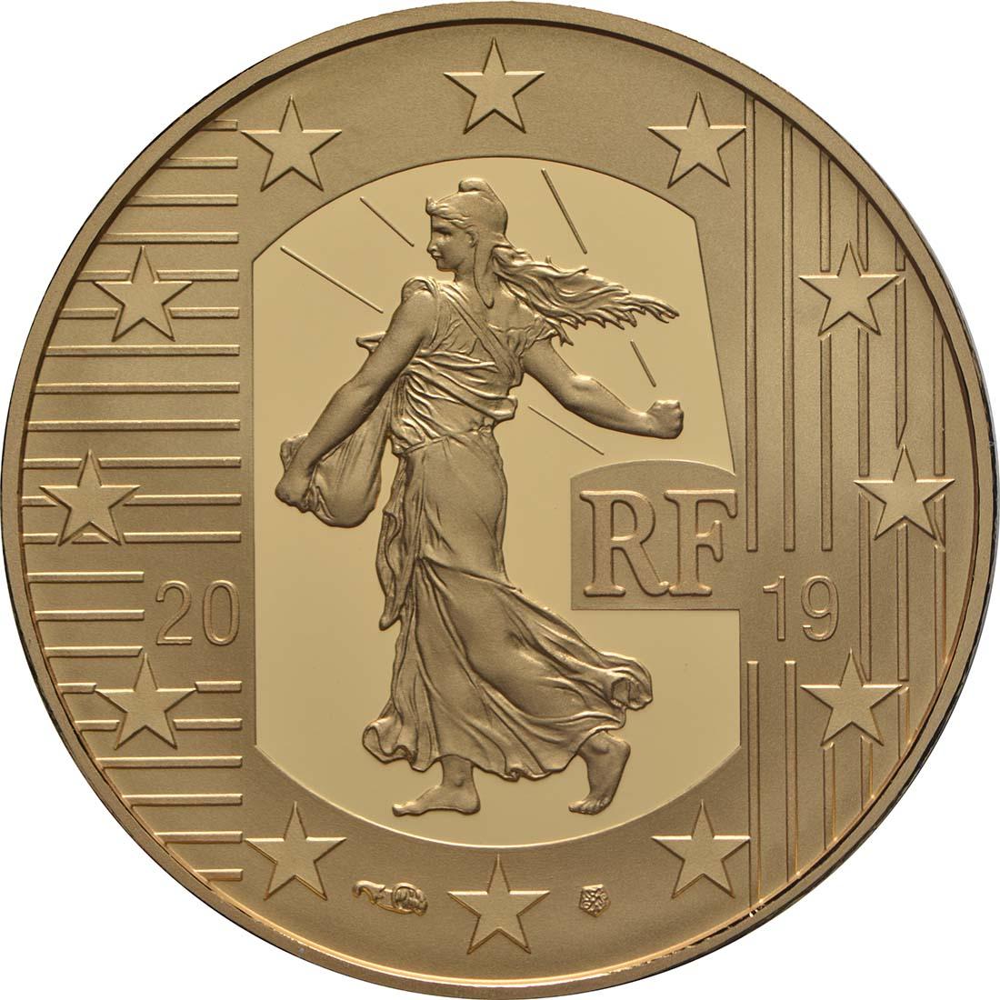 Vorderseite:Frankreich : 50 Euro Franc Germinal  2019 PP