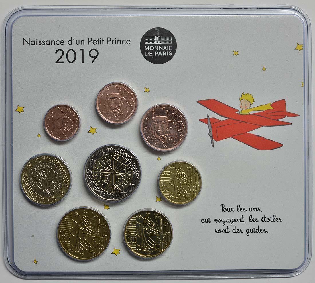 Lieferumfang:Frankreich : 3,88 Euro Mini KMS Jungen  2019 bfr