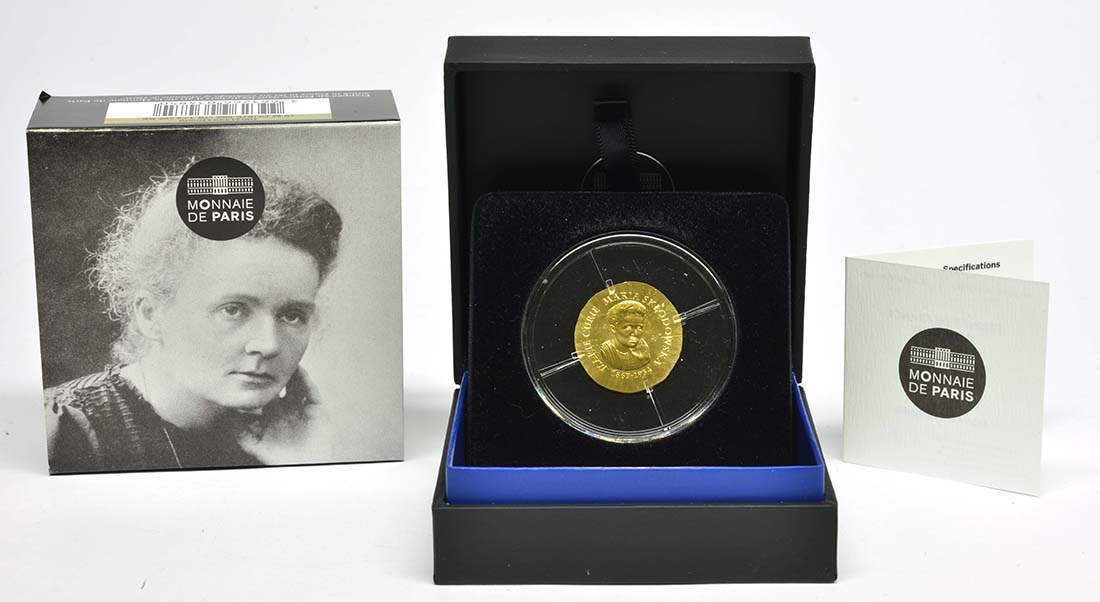 Lieferumfang:Frankreich : 50 Euro Marie Curie  2019 PP