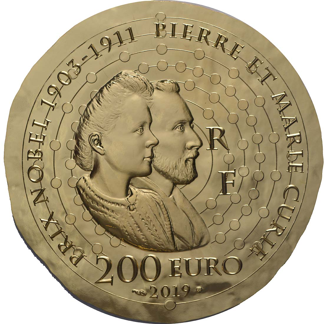 Rückseite:Frankreich : 200 Euro Marie Curie  2019 PP