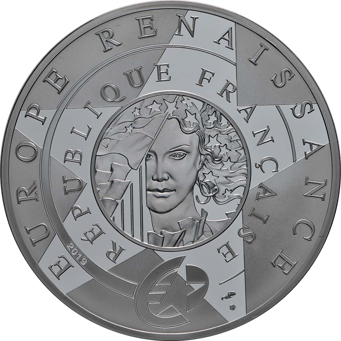 Rückseite:Frankreich : 10 Euro Renaissance - Da Vinci  2019 PP