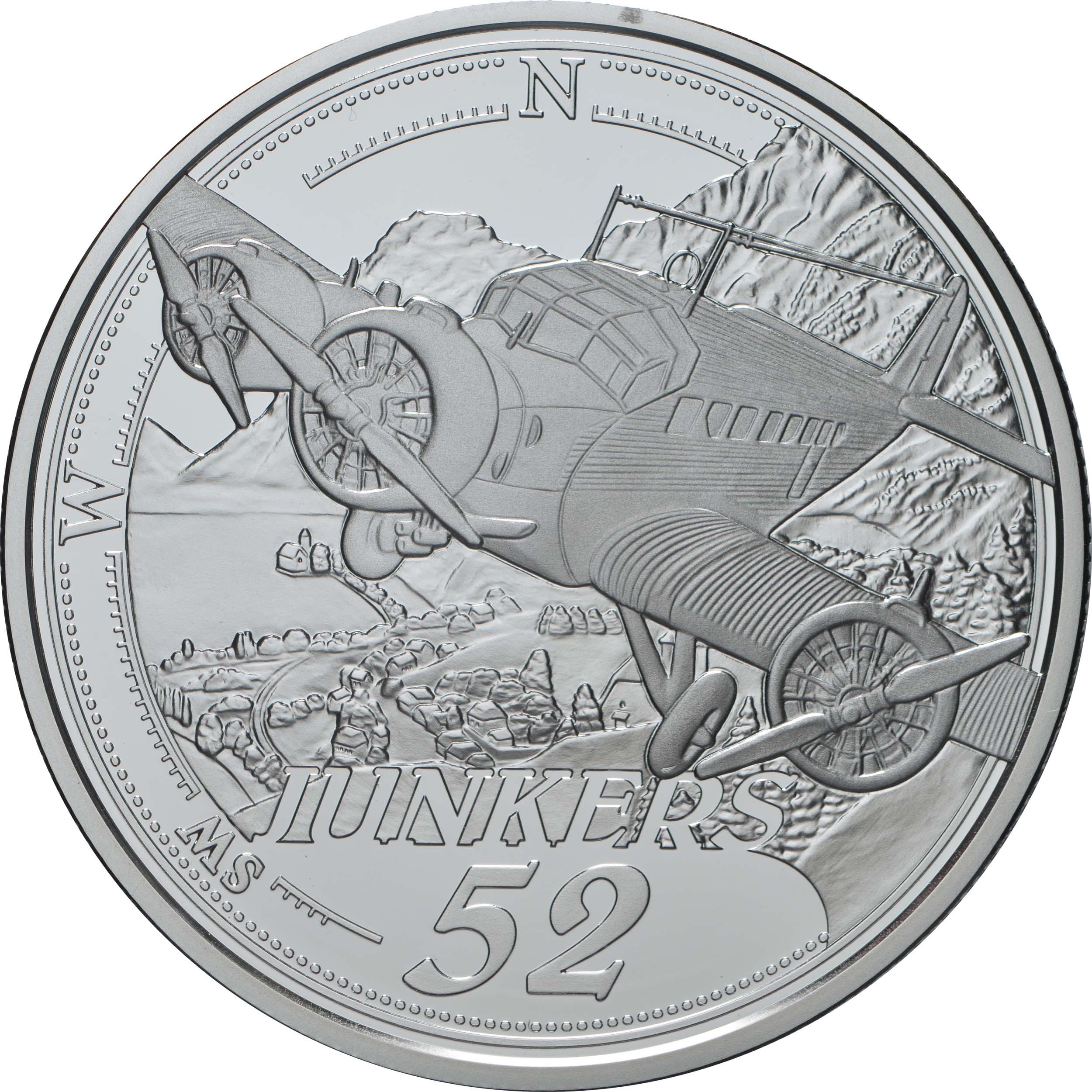 Vorderseite:Österreich : 20 Euro Die Ära des Motorflugs  2019 PP