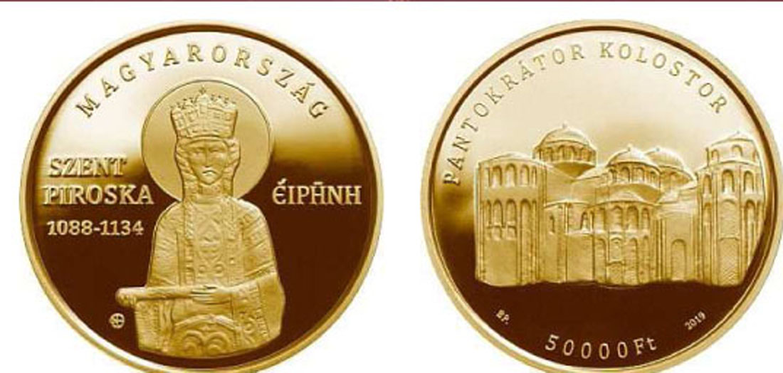 Lieferumfang:Ungarn : 50000 Forint Piroska (Irene) von Ungarn  2019 PP