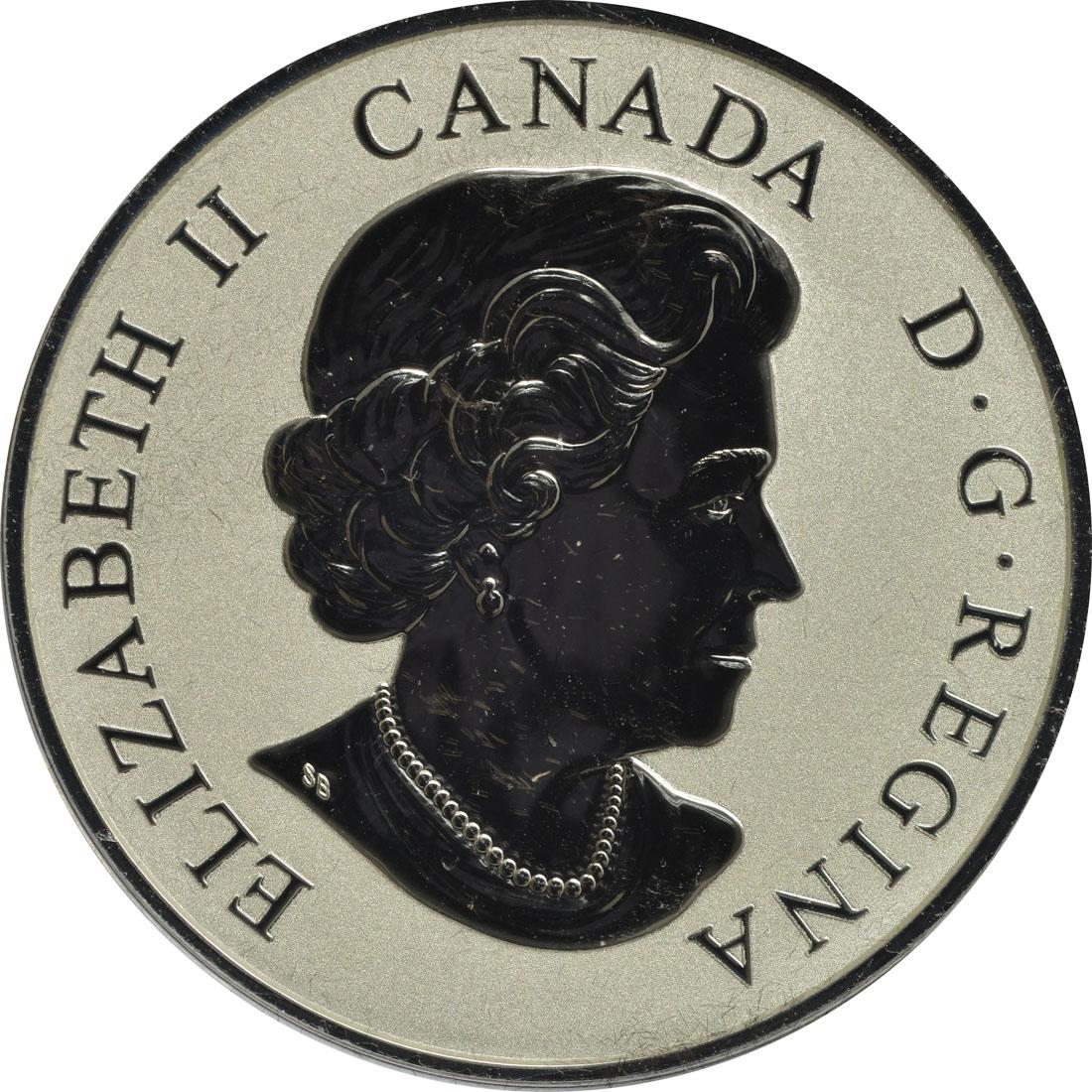 Rückseite:Kanada : 20 Dollar Weißkopfseeadler - Der Kühne  2019 PP