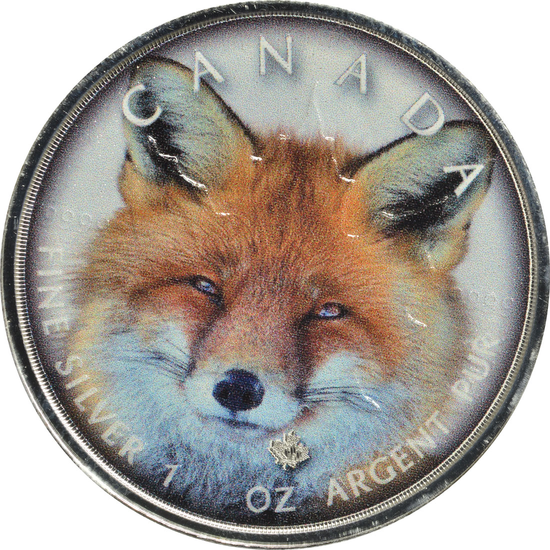 "Vorderseite:Kanada : 5 Dollar ML - Canada´s Wildlife ""Rotfuchs""  2019 Stgl."