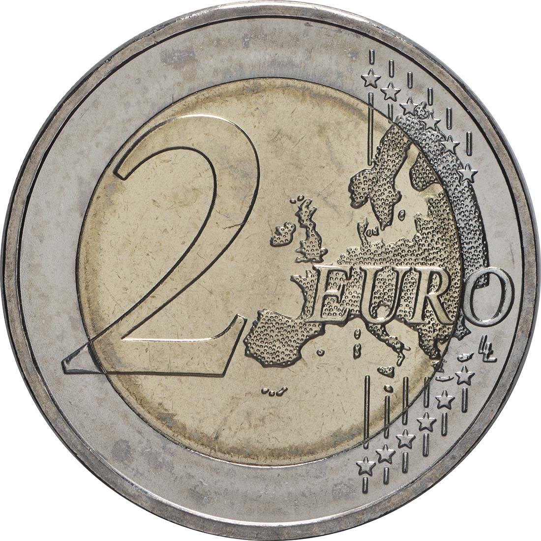 Vorderseite:Deutschland : 2 Euro Bundesrat - Buchstabe unserer Wahl  2019 bfr