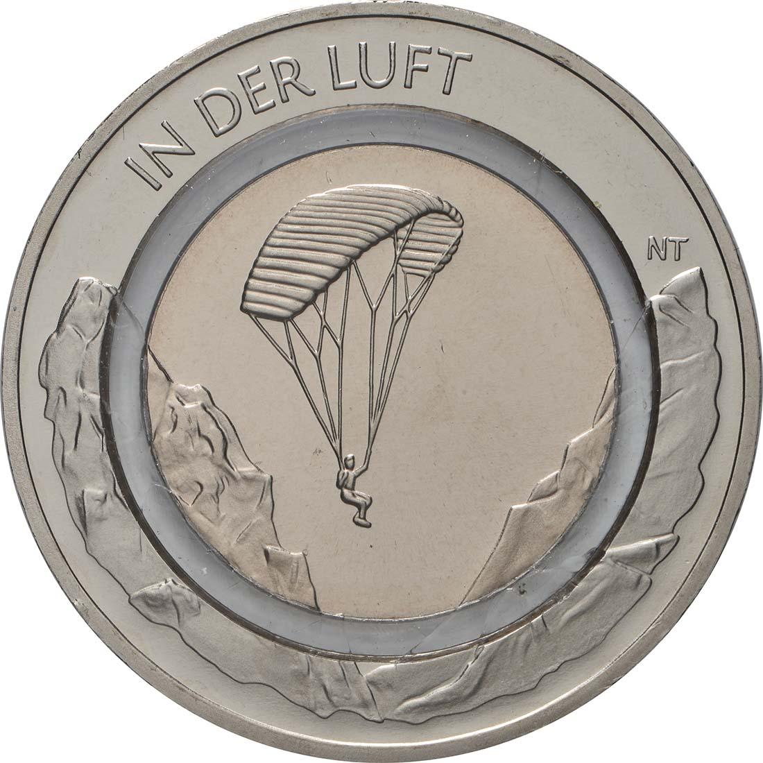 Vorderseite:Deutschland : 10 Euro In der Luft - Buchstabe unserer Wahl  2019 bfr