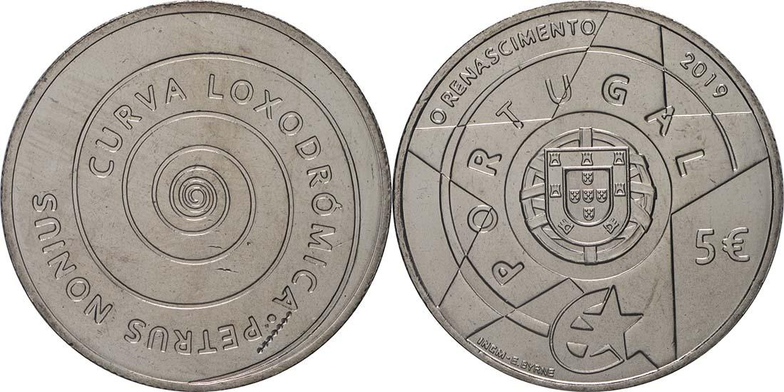 Lieferumfang:Portugal : 5 Euro Renaissance  2019 bfr