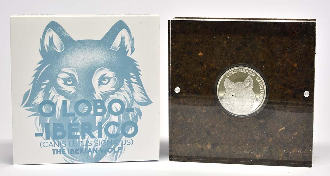 Lieferumfang:Portugal : 5 Euro Iberischer Wolf  2019 PP