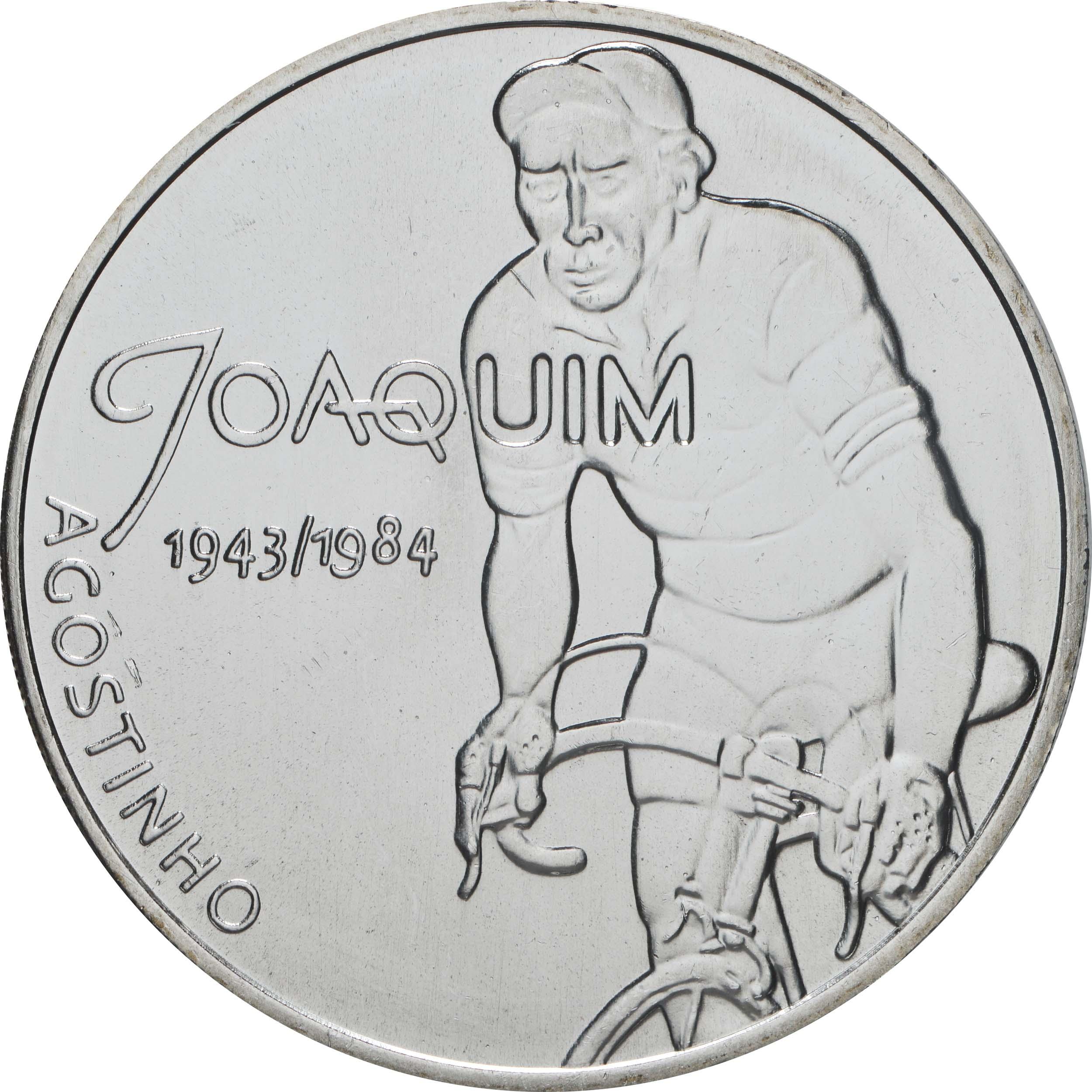 Vorderseite:Portugal : 7,5 Euro Joaquim Agostinho  2019 bfr