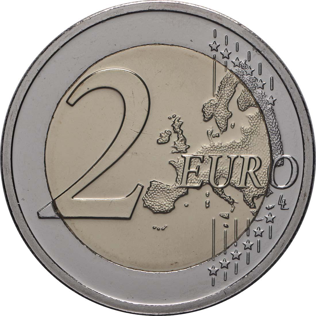 Vorderseite:Belgien : 2 Euro 450 Jahre Pieter Bruegel der Ältere  2019 bfr