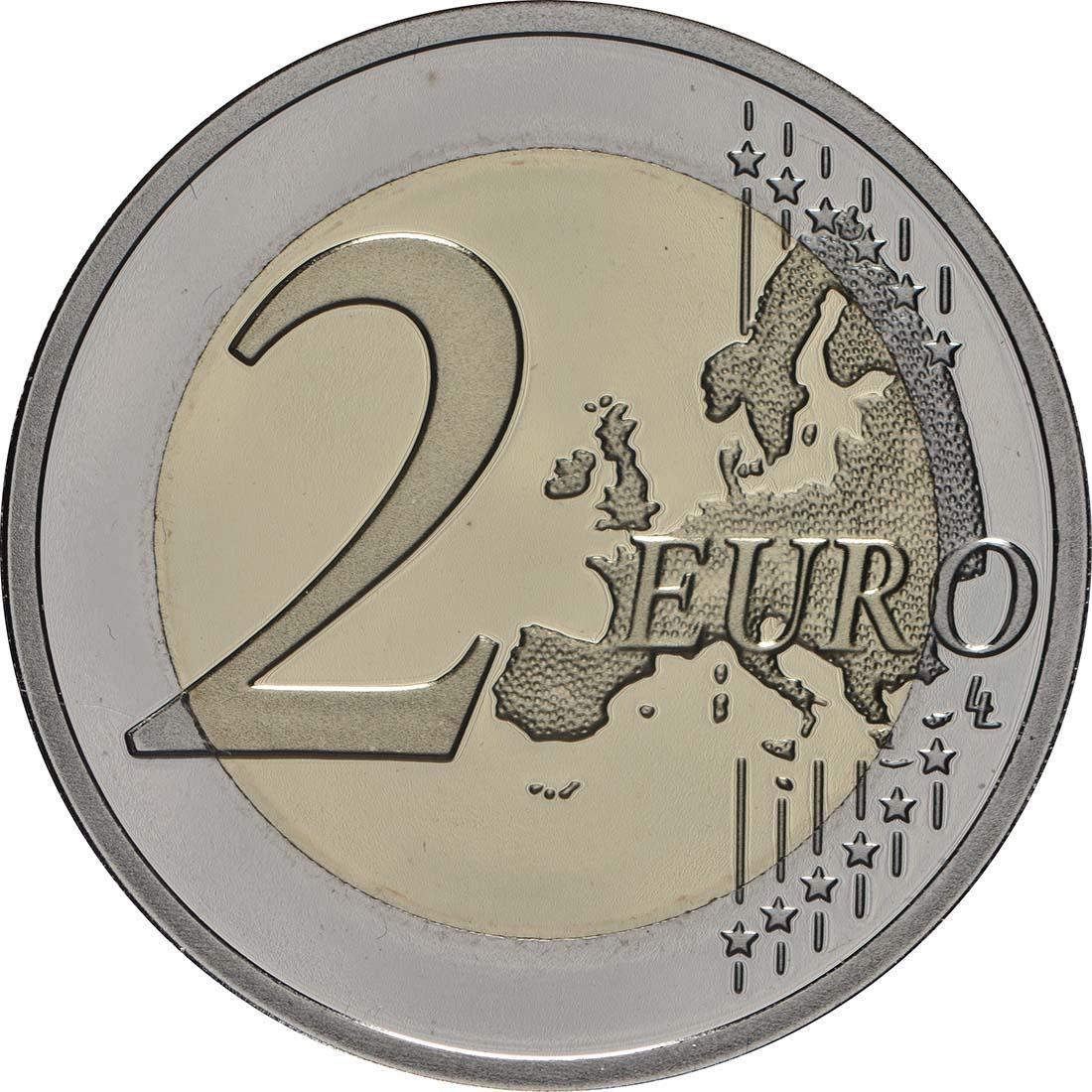 Vorderseite:Belgien : 2 Euro 450 Jahre Pieter Bruegel der Ältere  2019 PP