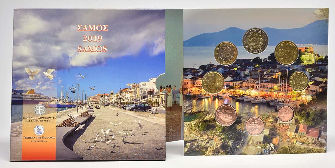 Lieferumfang:Griechenland : 3,88 Euro KMS Griechenland Samos  2019 Stgl.