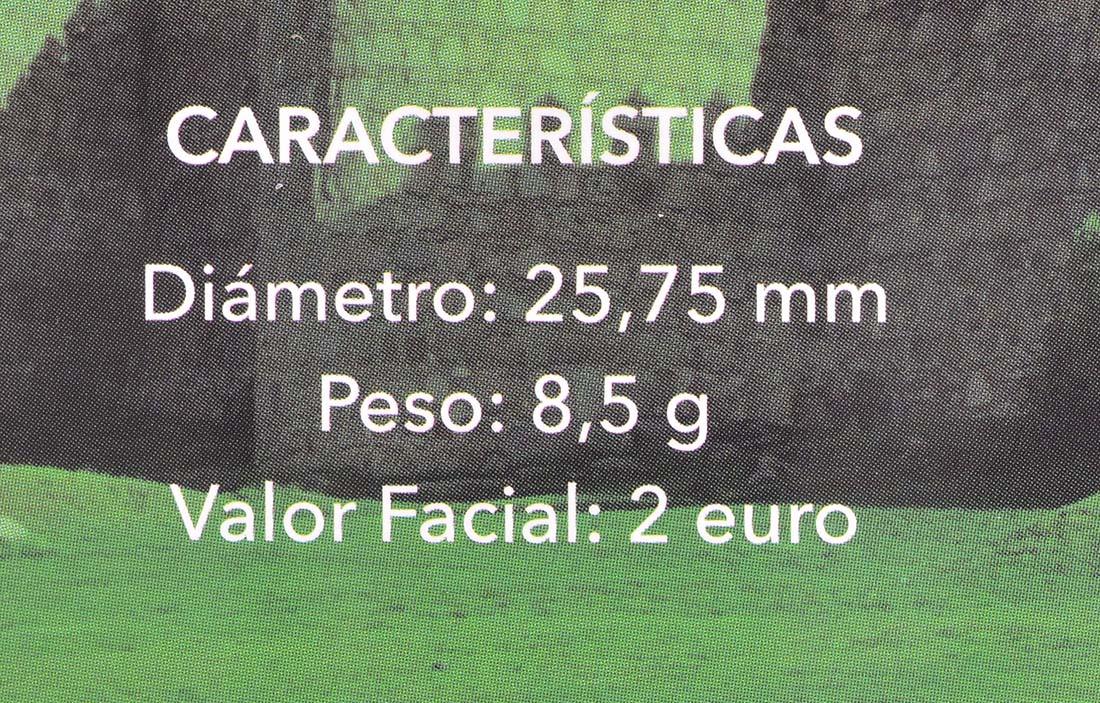 Zertifikat:Spanien : 2 Euro Altstadt von Ávila und Kirchen außerhalb der Stadtmauer  2019 PP