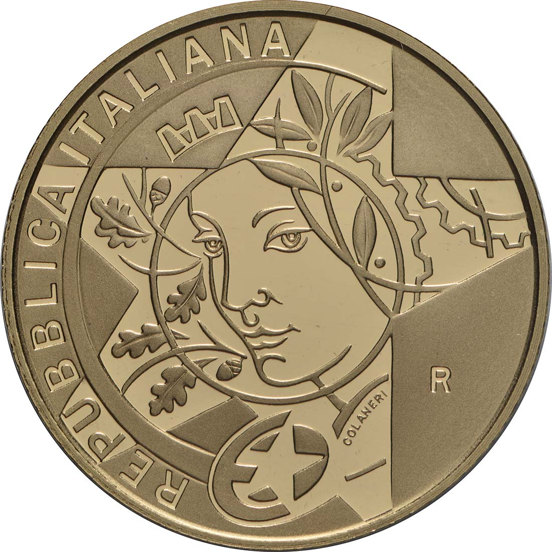 Rückseite:Italien : 20 Euro Renaissance  2019 PP
