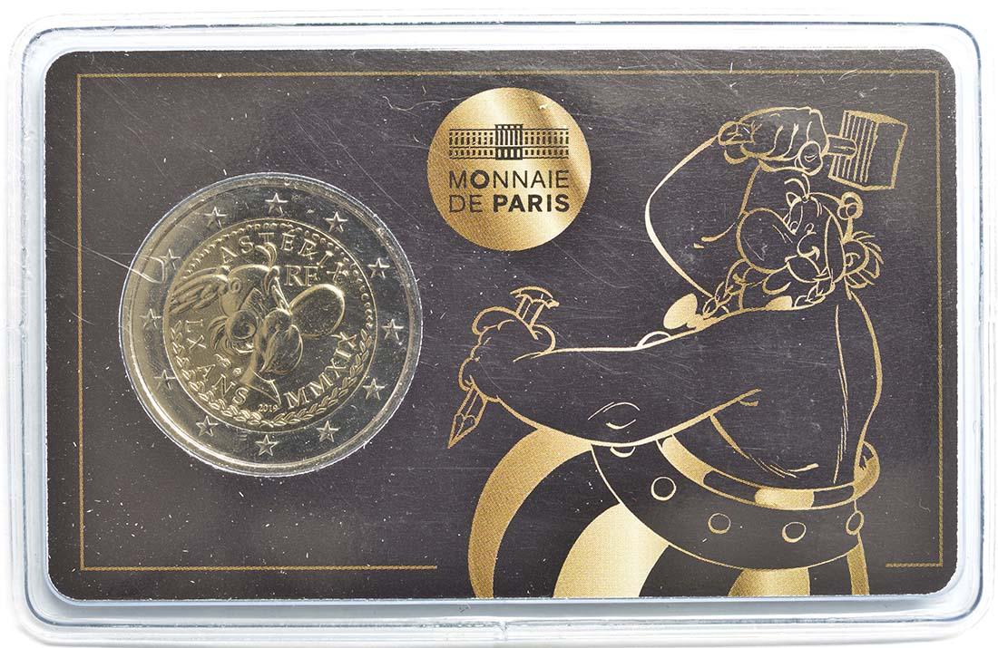 Lieferumfang:Frankreich : 2 Euro Obelix  2019 Stgl.