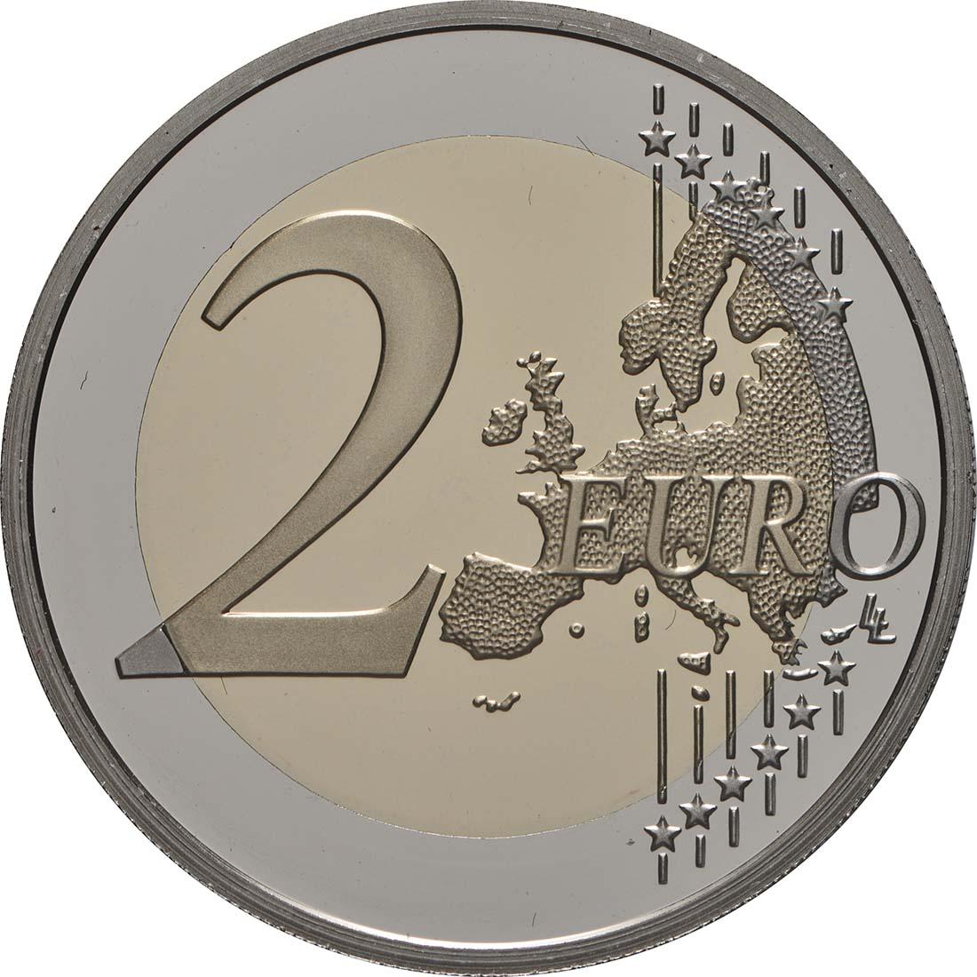 Vorderseite:Frankreich : 2 Euro Asterix  2019 PP