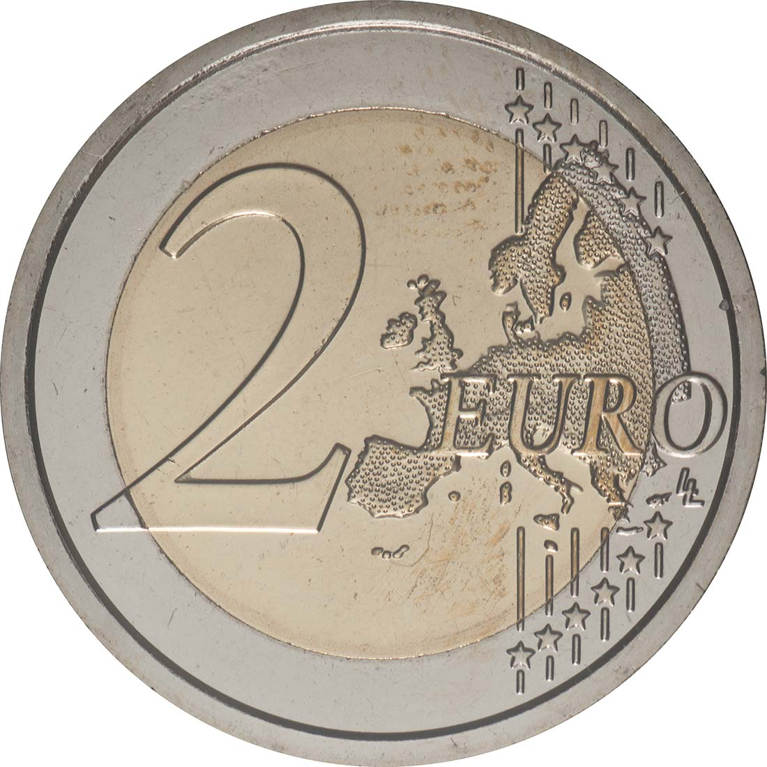 Vorderseite:San Marino : 2 Euro 550. Todestag von Filippo Lippi  2019 Stgl.