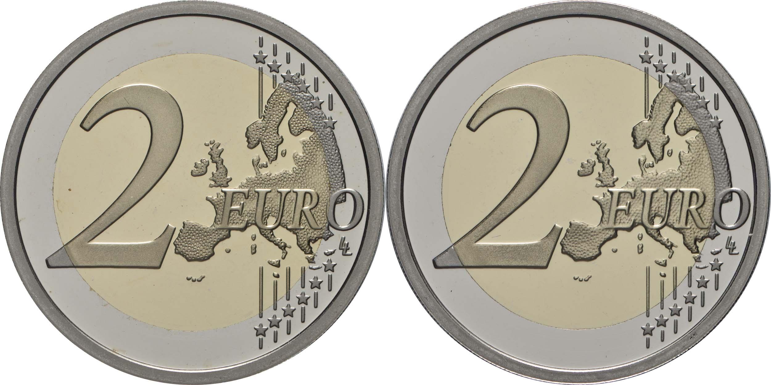 Vorderseite:San Marino : 7,88 Euro KMS San Marino mit 2 x 2 Euro Gedenkmünzen  2019 PP