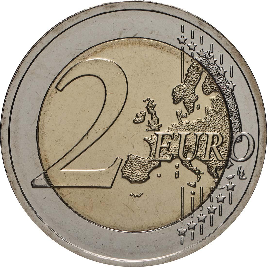 Vorderseite:Litauen : 2 Euro Sutartines - Litauische Volkslieder  2019 bfr