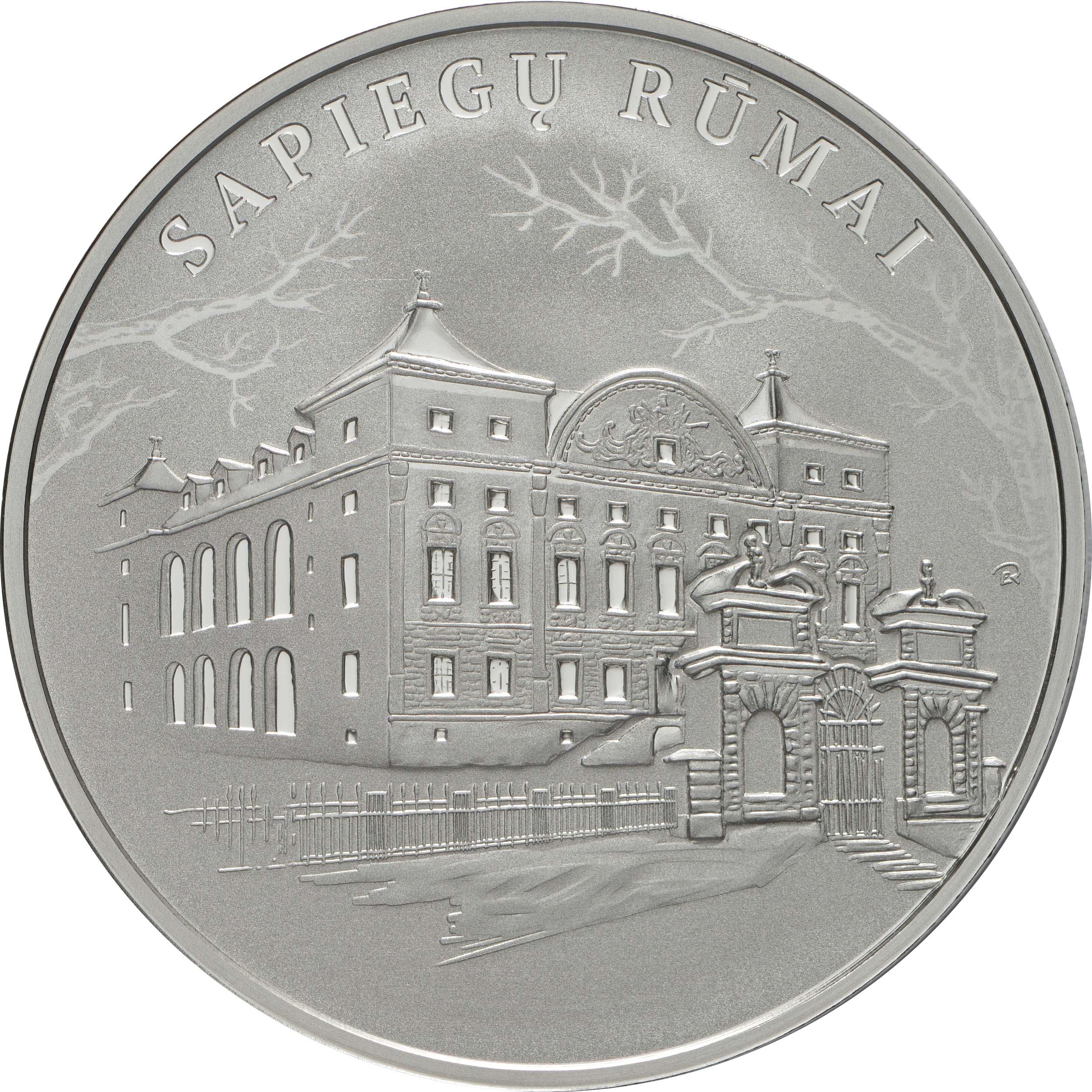 Vorderseite:Litauen : 20 Euro Sapieha Palast  2019 PP