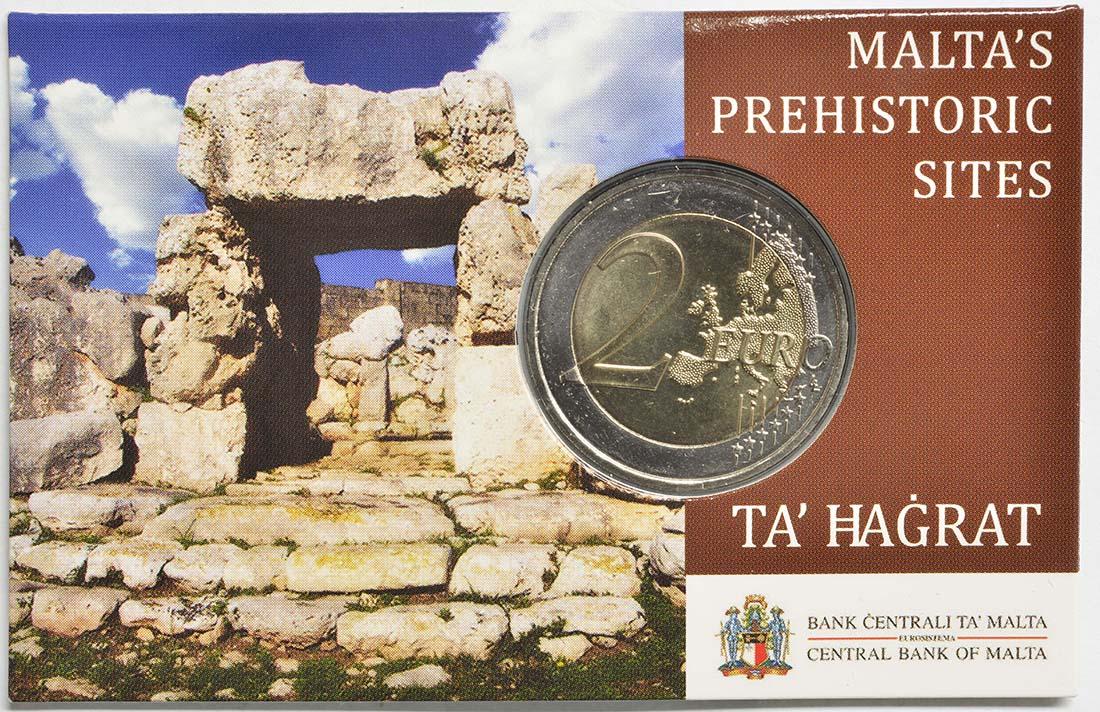 Lieferumfang:Malta : 2 Euro Ta Hagrat  2019 Stgl.