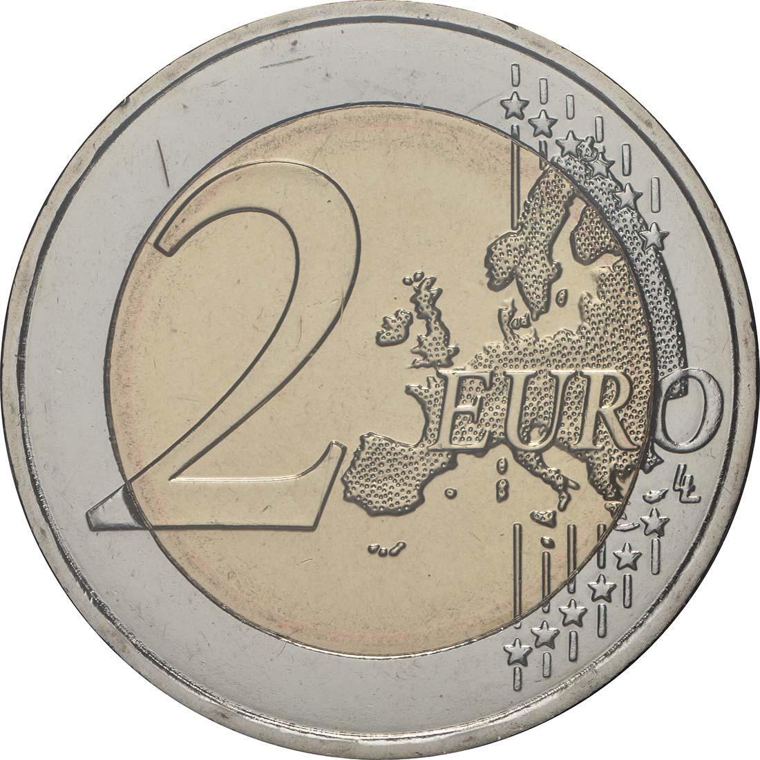 Vorderseite:Malta : 2 Euro Ta Hagrat  2019 Stgl.