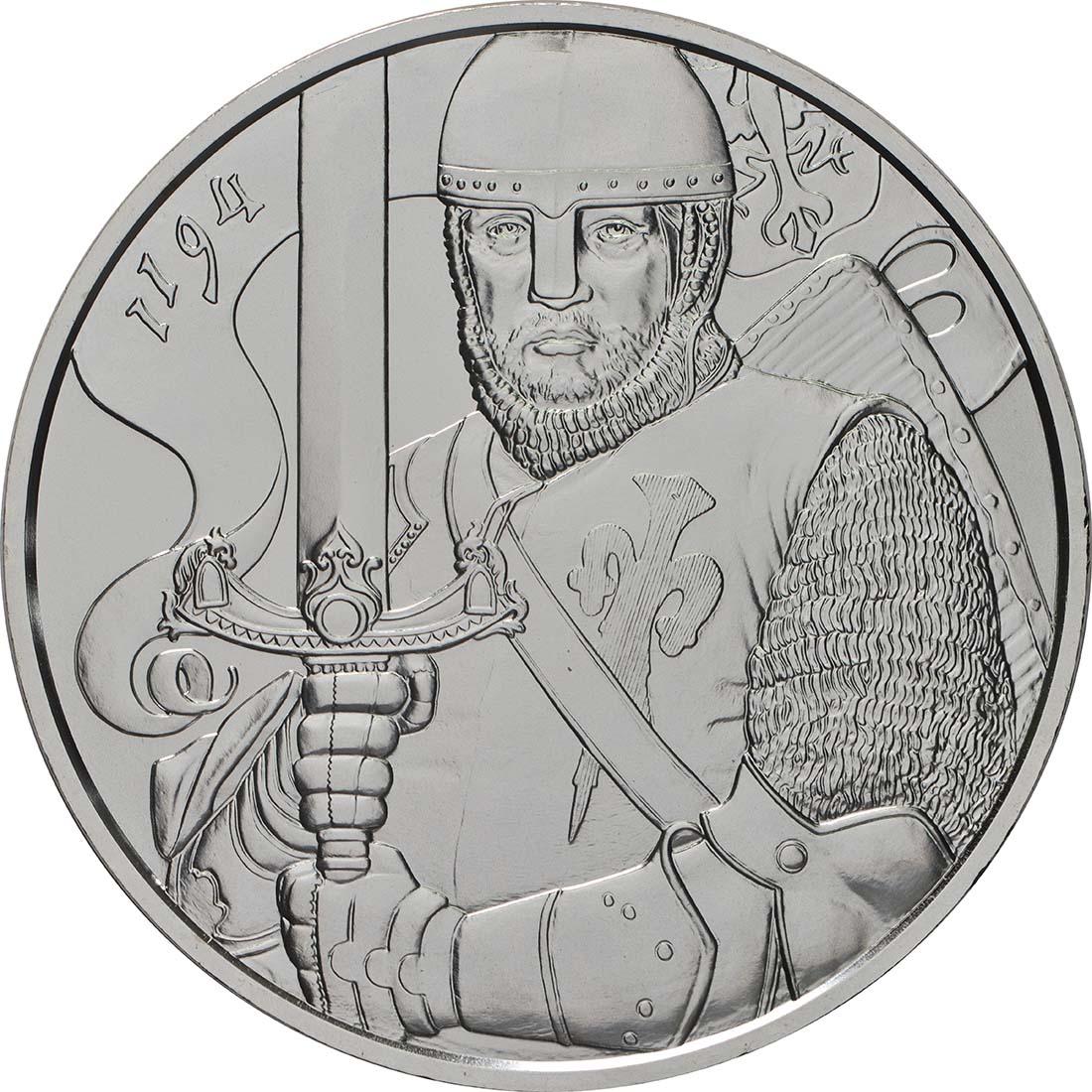 Vorderseite:Österreich : 1,5 Euro Leopold V.  2019 Stgl.