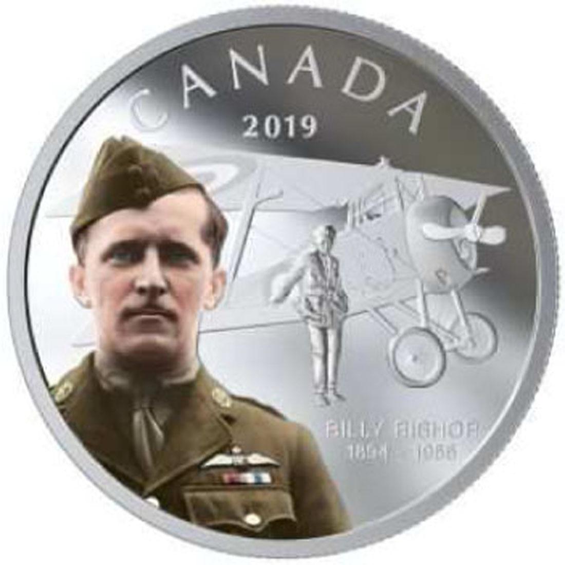 Lieferumfang:Kanada : 20 Dollar 125. Geburtstag von Billy Bishop  2019 PP