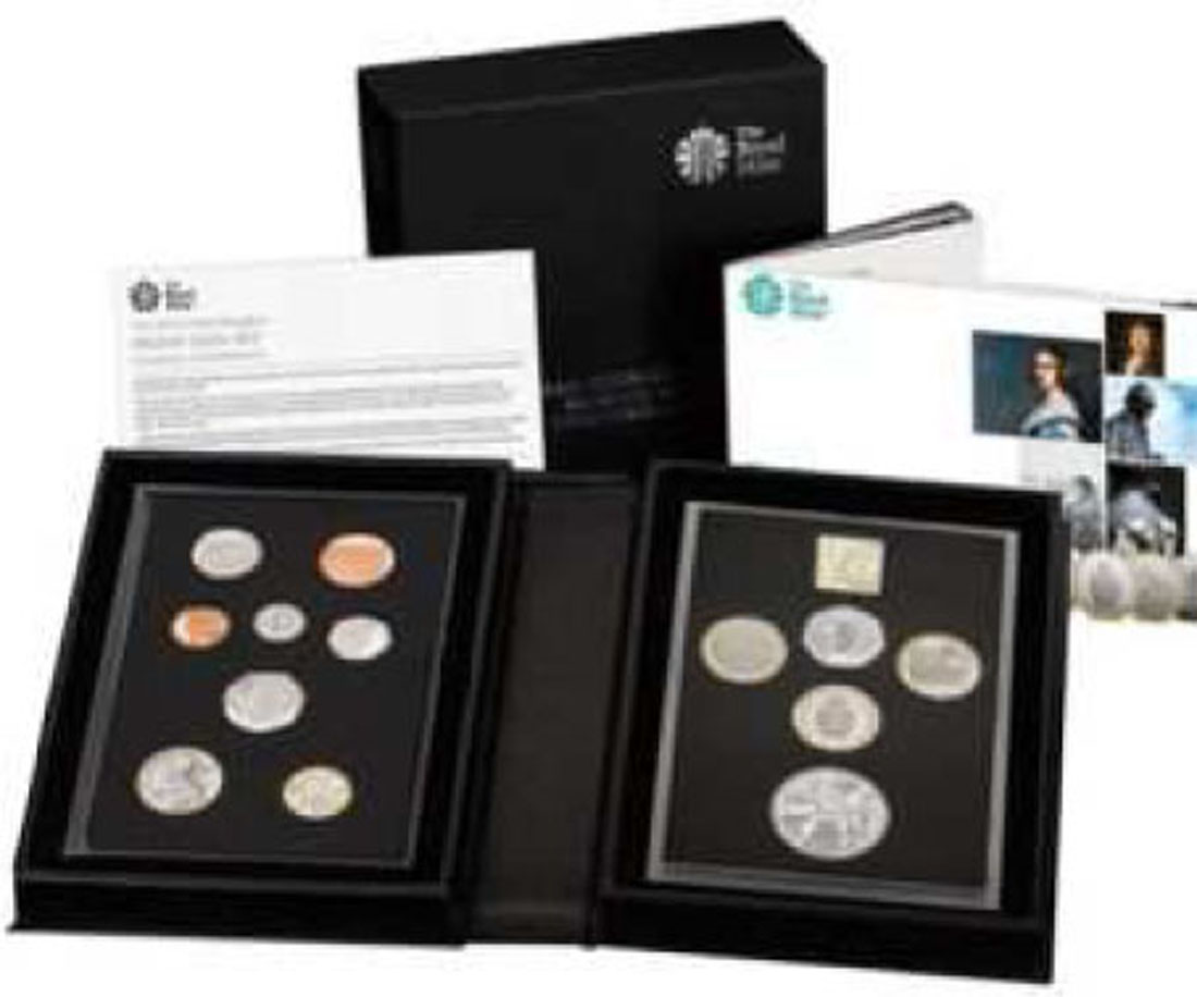 Lieferumfang:Großbritannien : 15,38 Pfund Kursmünzensatz - Collector Version  2019 PP