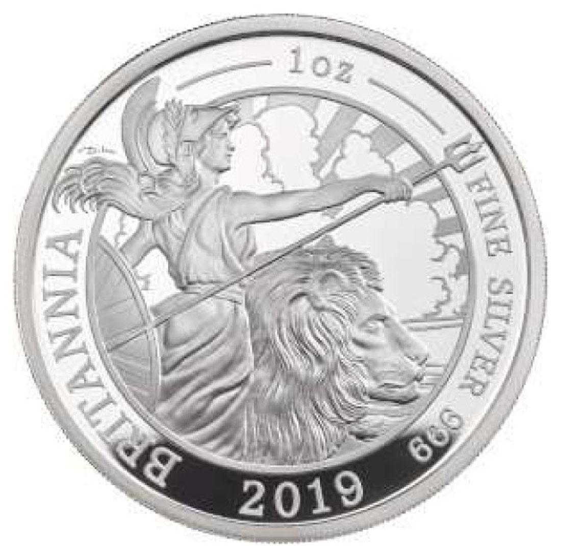 Lieferumfang:Großbritannien : 2 Pfund Britannia 1 Oz  2019 PP