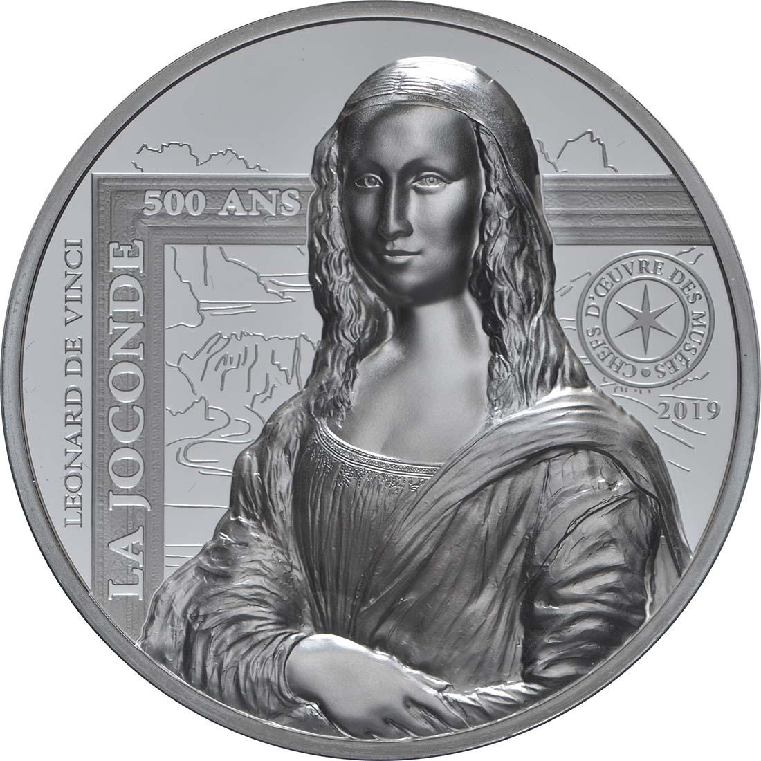 Vorderseite:Frankreich : 20 Euro Mona Lisa  2019 PP