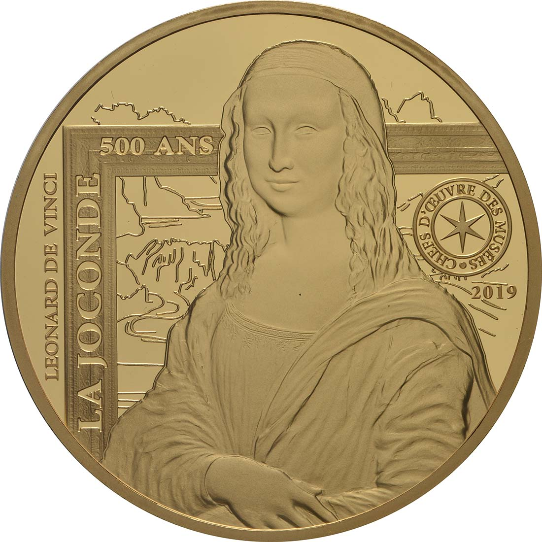 Vorderseite:Frankreich : 200 Euro Mona Lisa  2019 PP