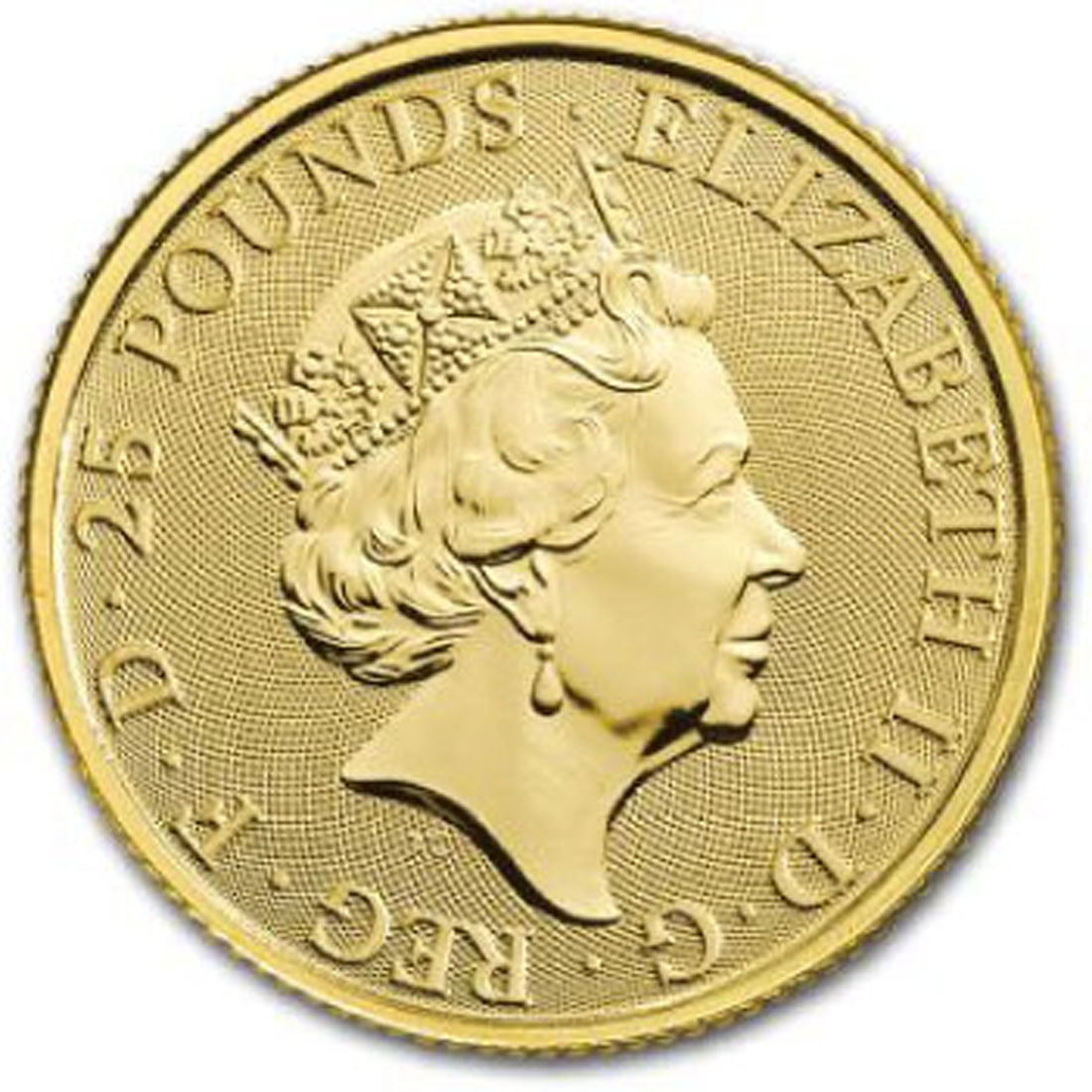 Lieferumfang:Großbritannien : 25 Pfund The Queen´s Beasts - Yale  2019 Stgl.