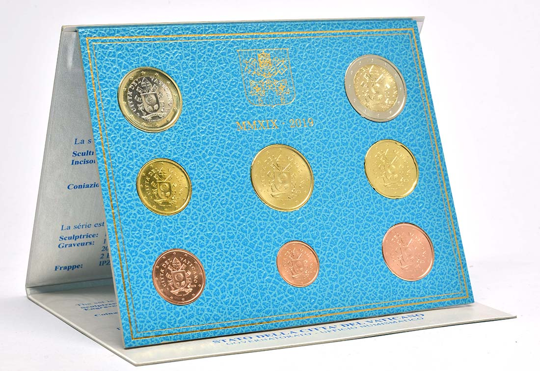 Lieferumfang:Vatikan : 3,88 Euro KMS Vatikan  2019 Stgl.