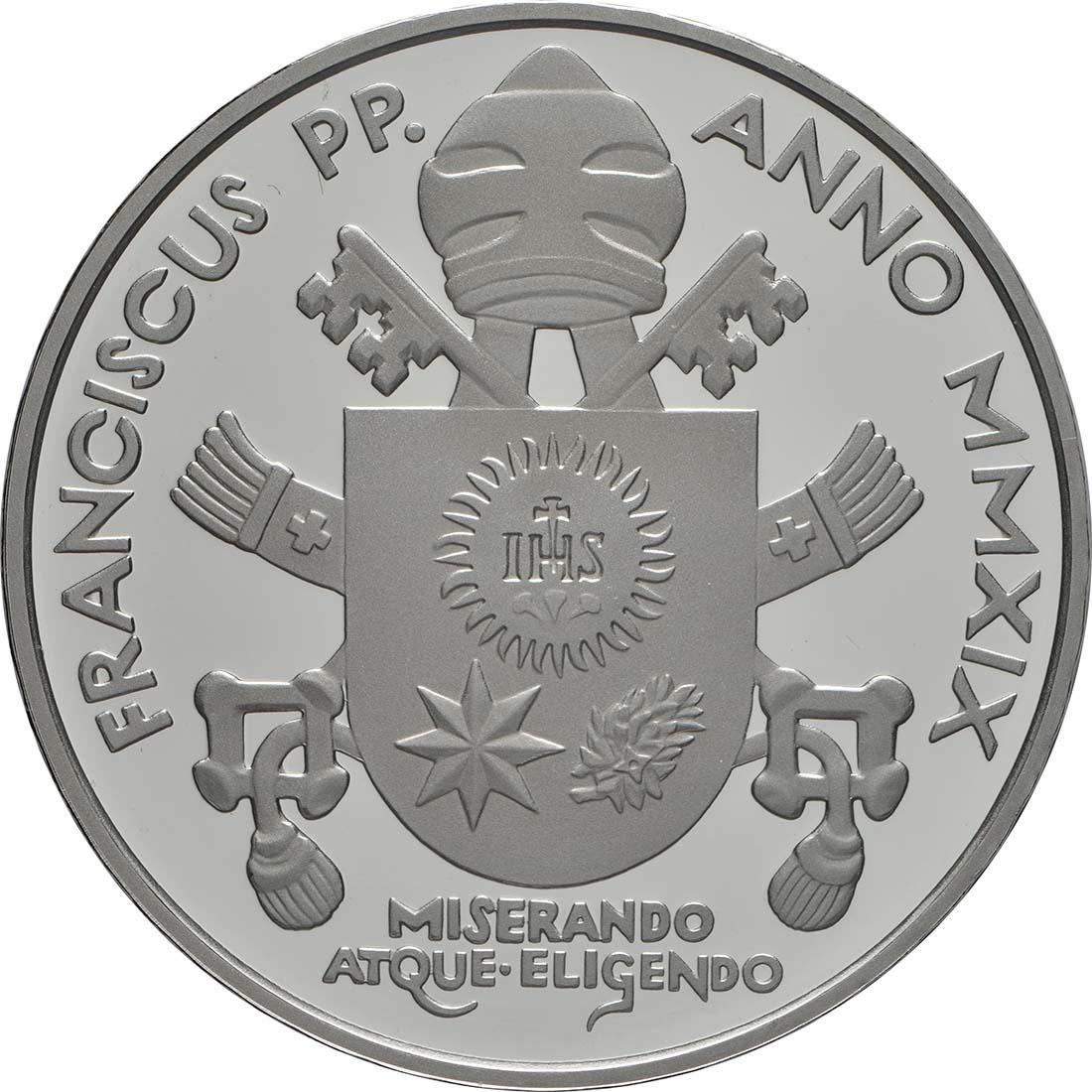 Vorderseite:Vatikan : 23,88 Euro KMS Vatikan mit 20 Euro Gedenkmünze  2019 PP