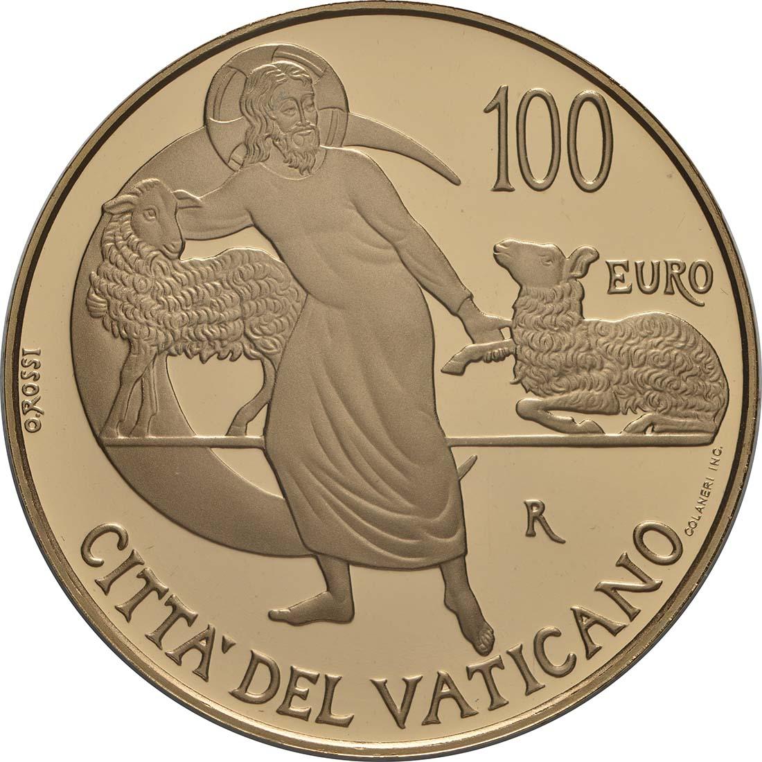 Vorderseite:Vatikan : 100 Euro postolische Konstitution Zweites Vatikanisches Konzil: Lumen Gentium  2019 PP
