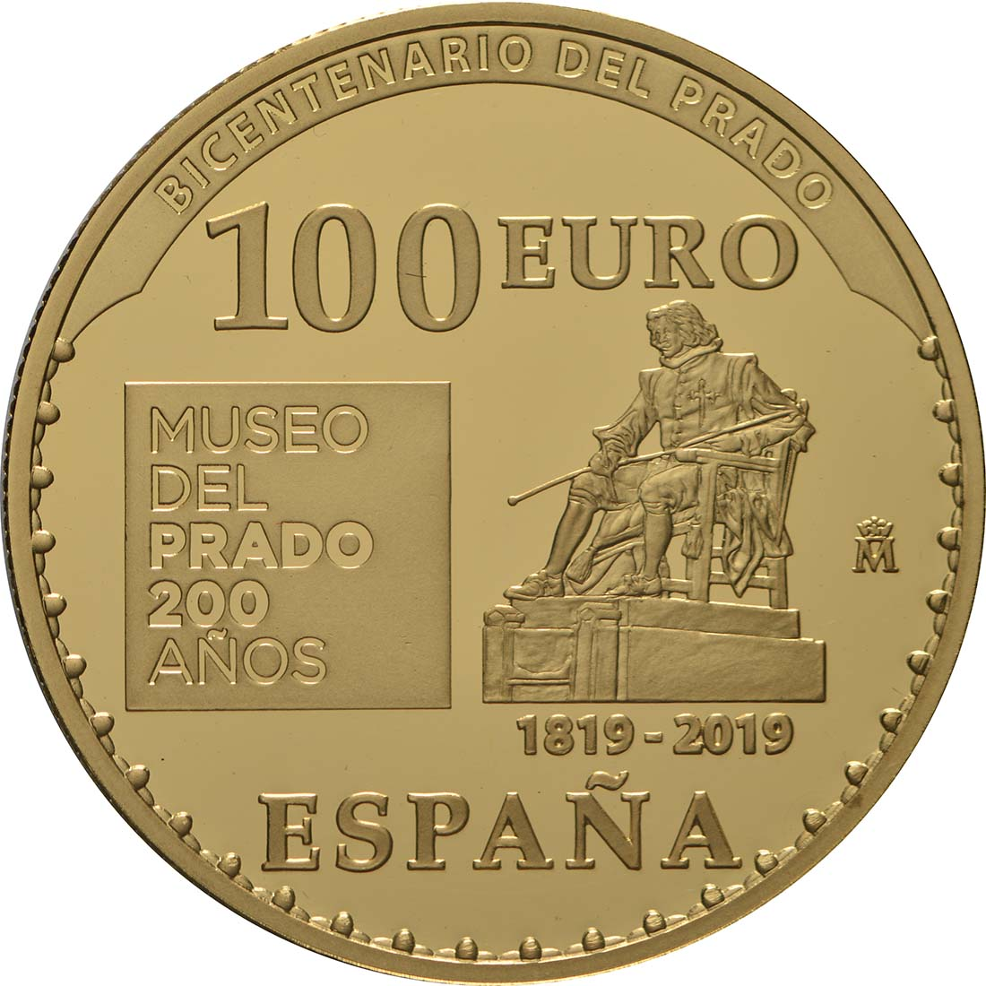 Rückseite:Spanien : 100 Euro Meleandros Jagd  2019 PP