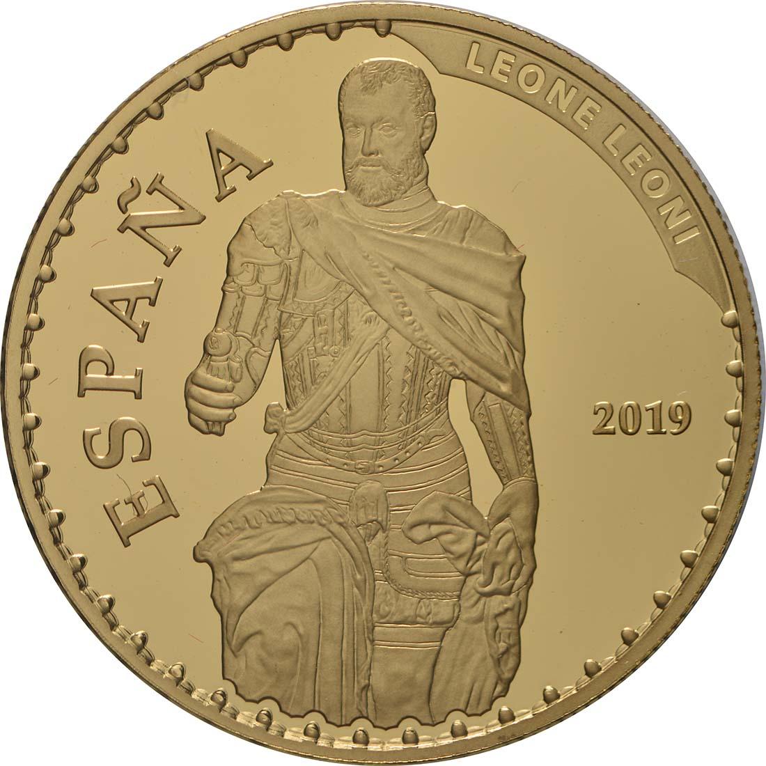 Vorderseite:Spanien : 100 Euro Karl V.  2019 PP