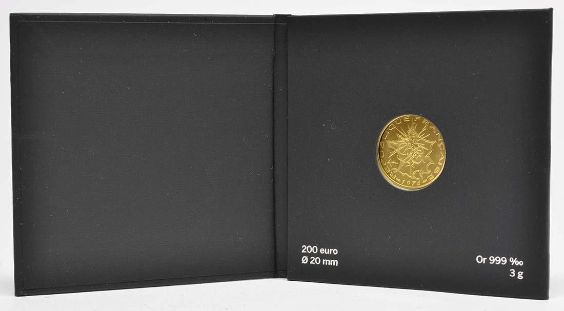 Lieferumfang:Frankreich : 200 Euro 10FF Mathieu de 1976  2019 bfr