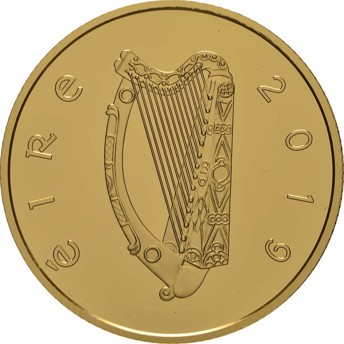 Rückseite:Irland : 100 Euro 100. Jahrestag Dail Eireann  2019 PP
