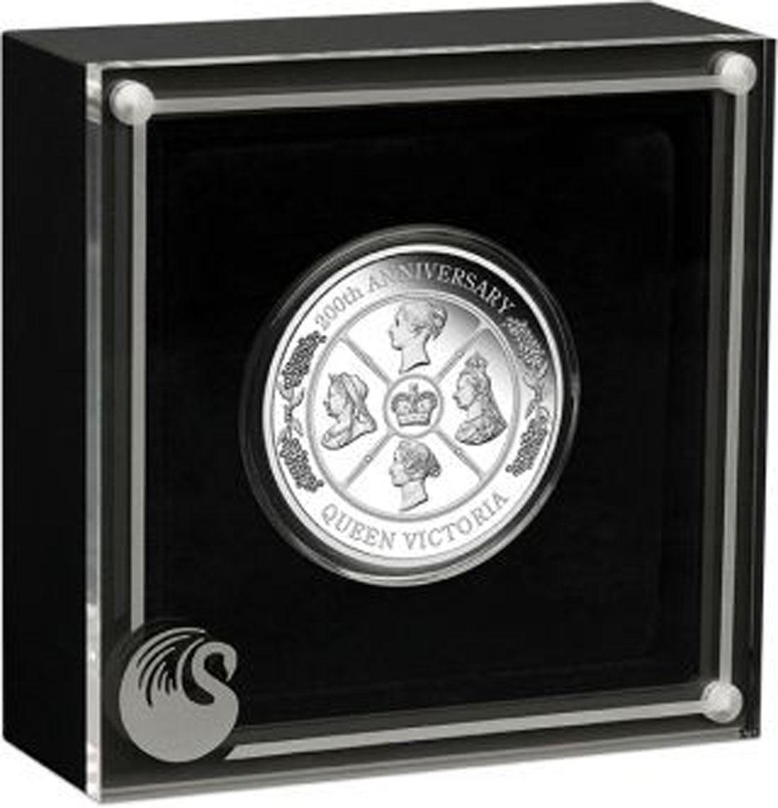 Lieferumfang:Australien : 1 Dollar 200. Geburtstag Queen Victoria   1 oz  2019 PP